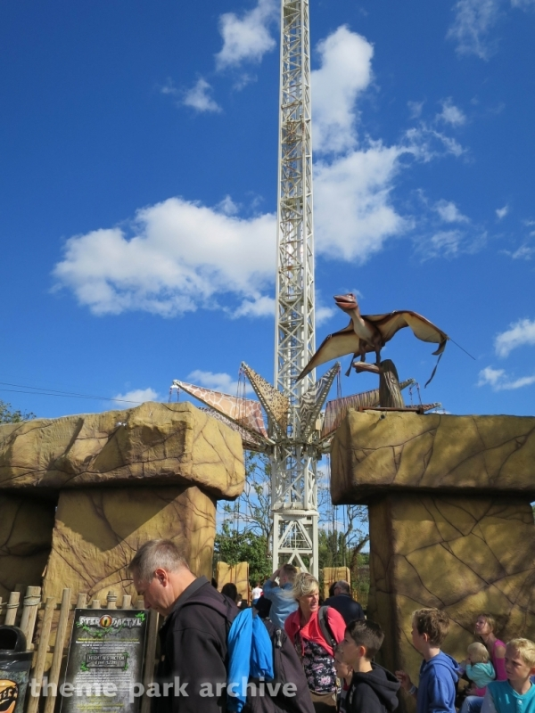 Pterodactyl at Flamingo Land