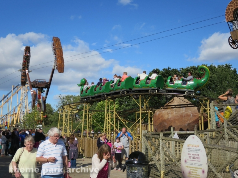 Dino Roller at Flamingo Land