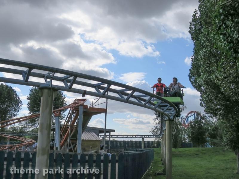 Cycle Monorail at Flamingo Land
