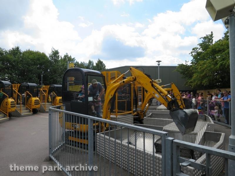 Digger Challenge at LEGOLAND Windsor