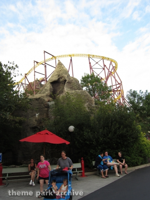 Volcano: The Blast Coaster at Kings Dominion