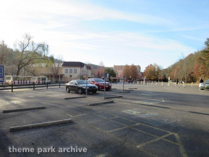 Parking at Dollywood