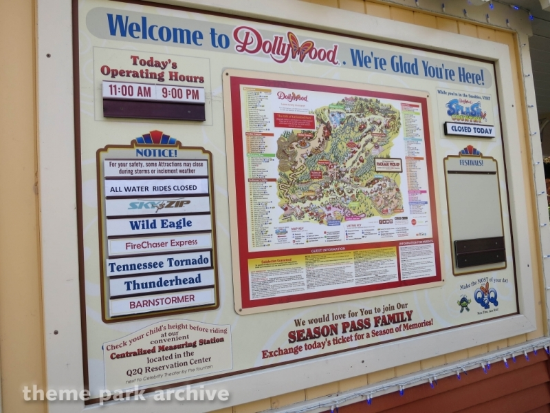 Entrance at Dollywood