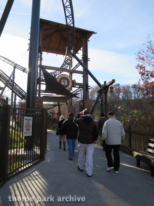 FireChaser Express at Dollywood