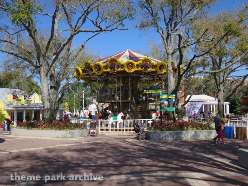 The Grand Carousel at LEGOLAND Florida