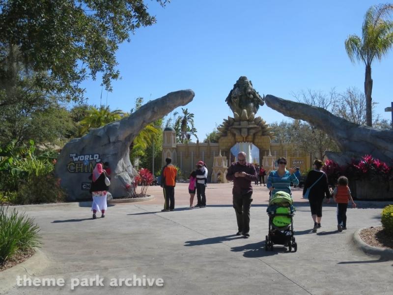 The World of Chima at LEGOLAND Florida