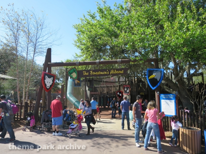 The Forestmen's Hideout at LEGOLAND Florida