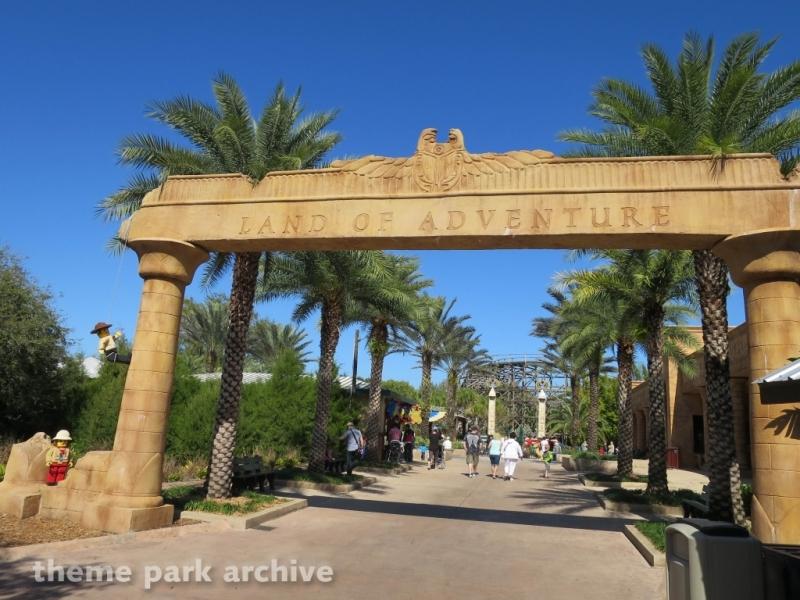 Land of Adventure at LEGOLAND Florida