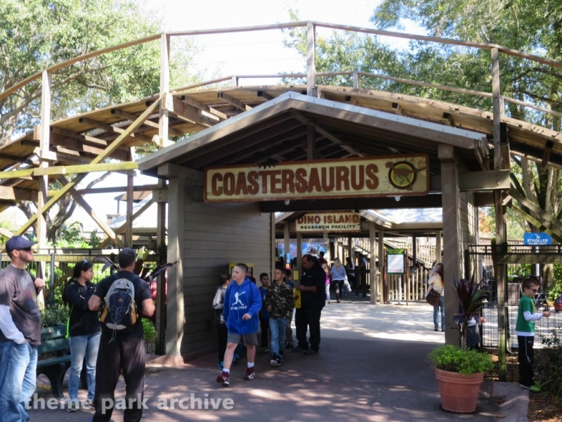 Coastersaurus at LEGOLAND Florida