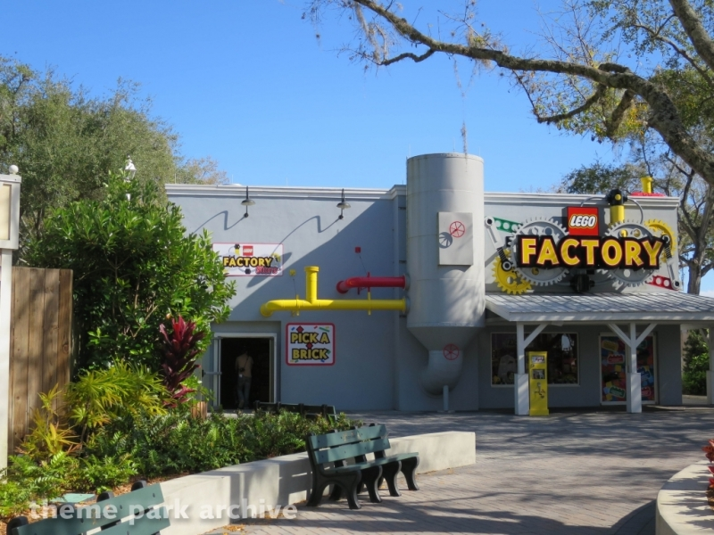 LEGO Factory at LEGOLAND Florida