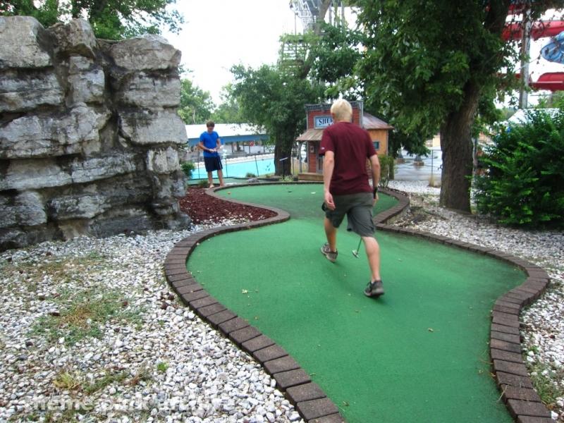 Gold Rush Golf at Beech Bend Park