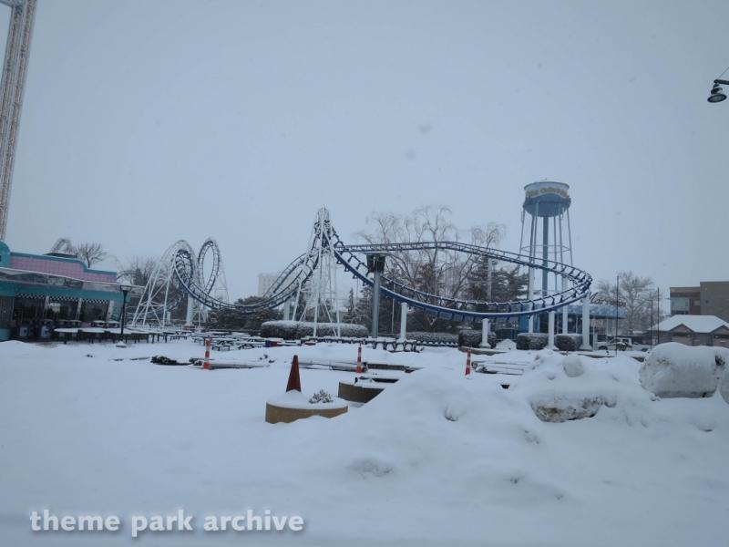 Corkscrew at Cedar Point