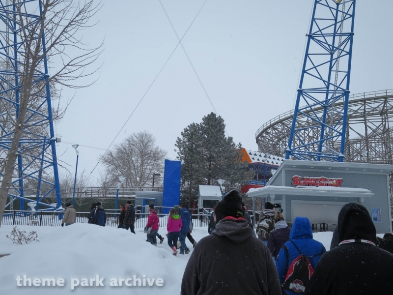 Slingshot at Cedar Point