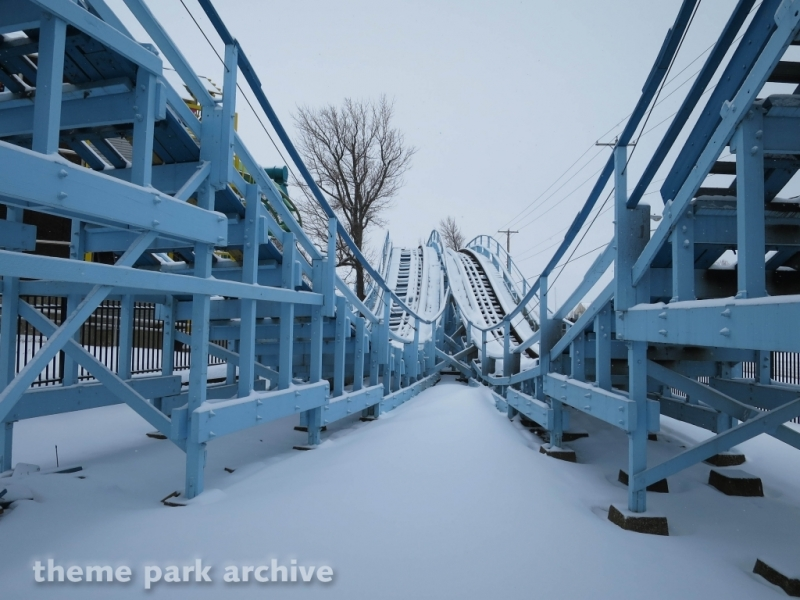 Blue Streak at Cedar Point