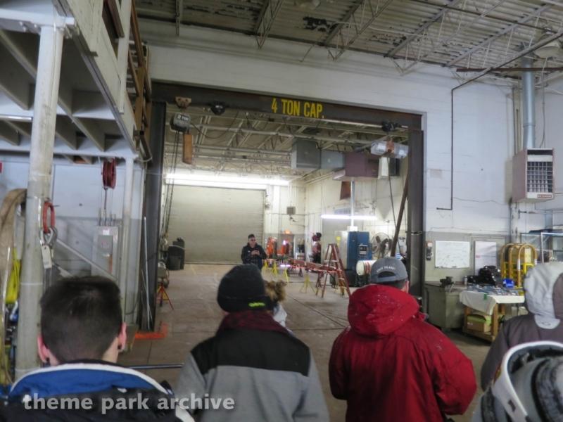 Maintenance Building at Cedar Point