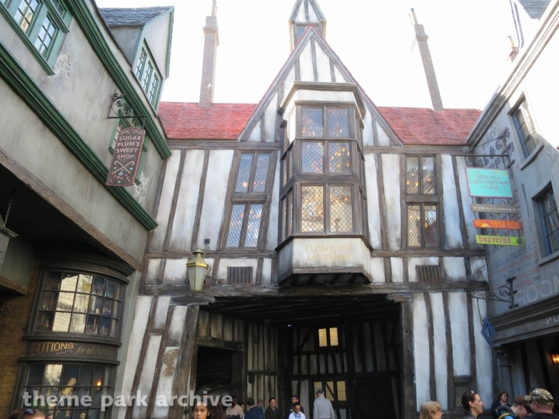 The Wizarding World of Harry Potter Diagon Alley at Universal Studios Florida