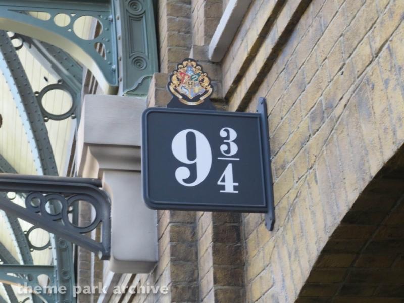 Hogwarts Express Kings Cross Station at Universal Studios Florida