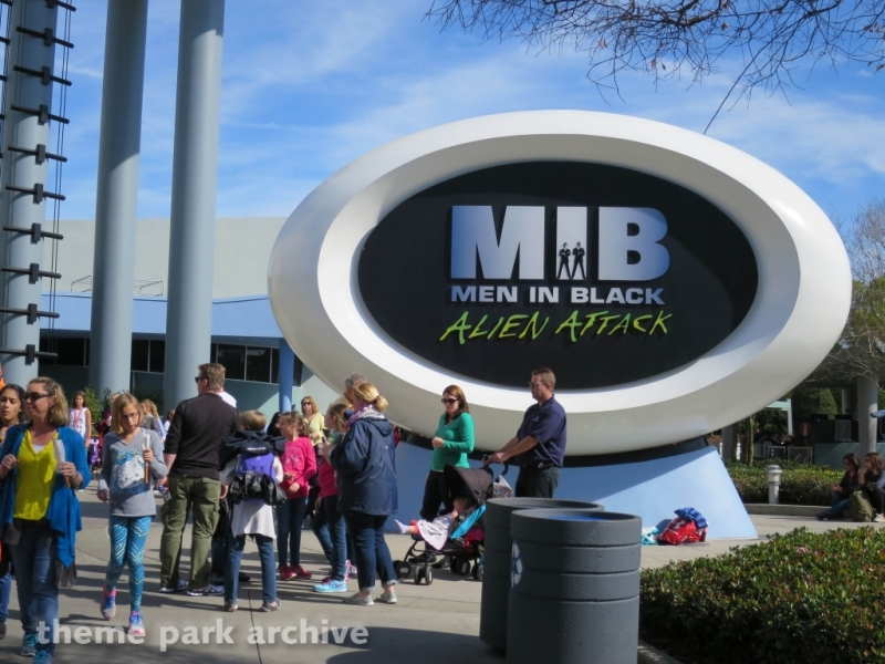 Men In Black Alien Attack at Universal Studios Florida
