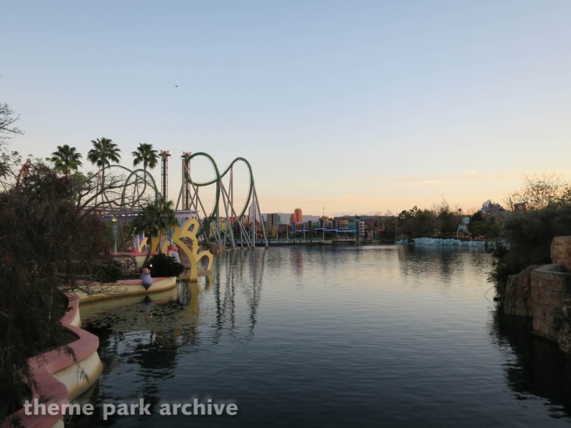 The Incredible Hulk Coaster at Universal Islands of Adventure