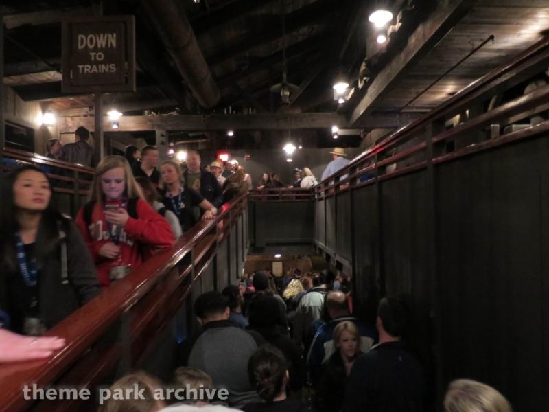 Big Thunder Mountain Railroad at Magic Kingdom