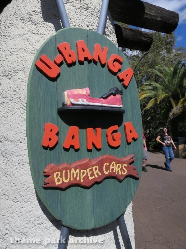 U Banga Banga Bumper Cars at Busch Gardens Tampa