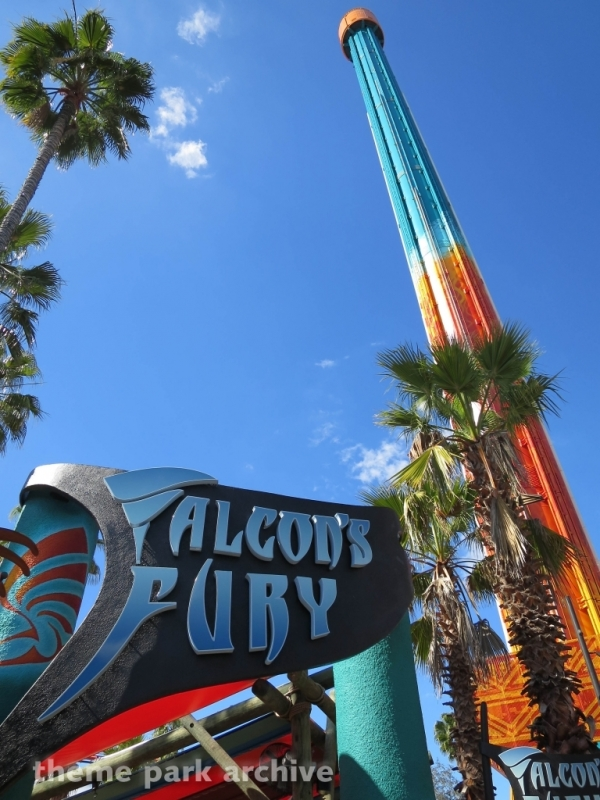 Falcon's Fury at Busch Gardens Tampa