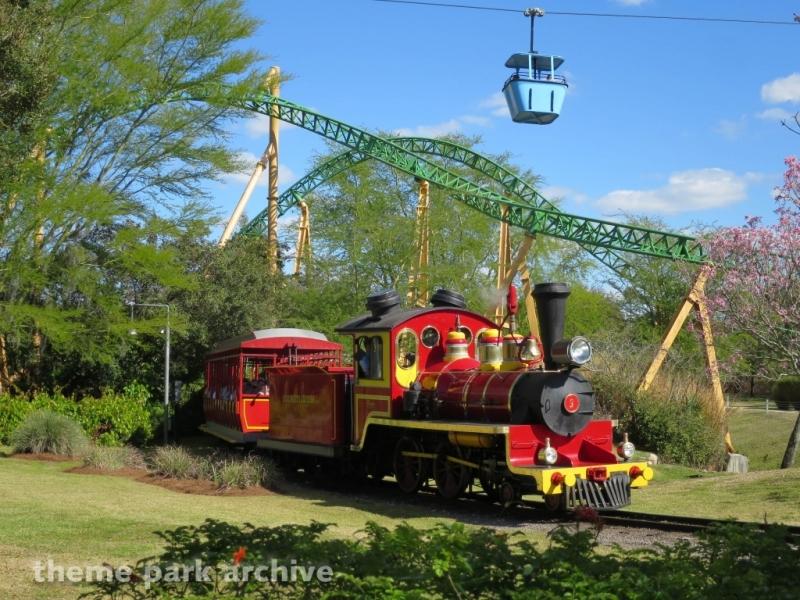 Train at Busch Gardens Tampa