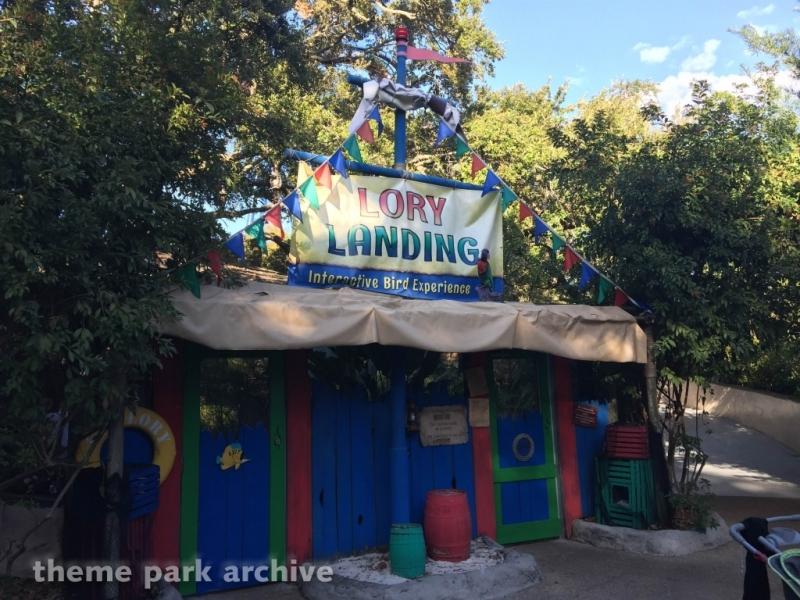 Lory Landing at Busch Gardens Tampa
