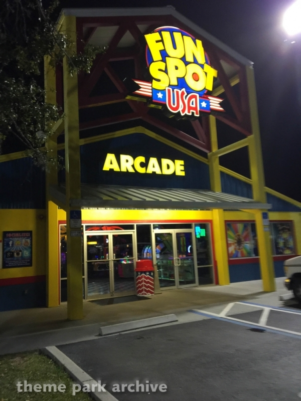 Entrance at Fun Spot America Kissimmee