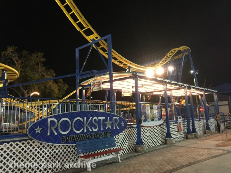 Rockstar Coaster at Fun Spot America Kissimmee