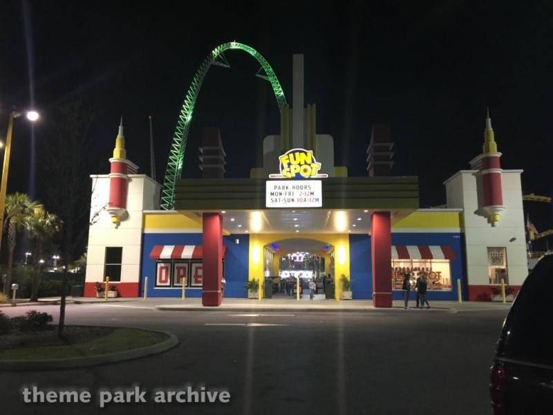 Entrance at Fun Spot America Orlando
