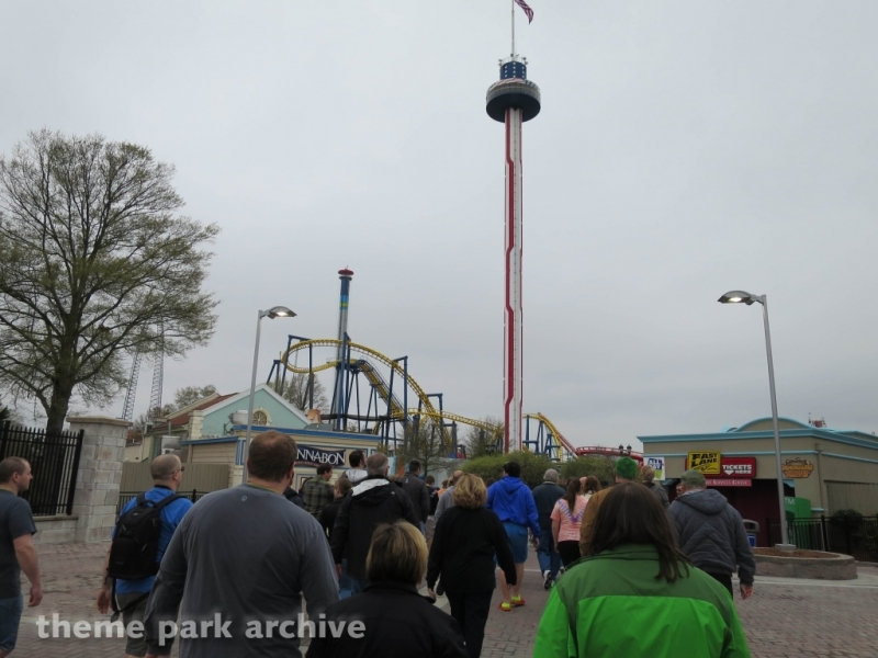Carolina Skytower at Carowinds