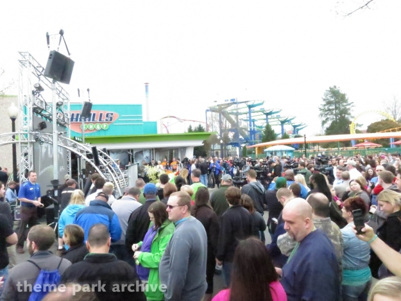 Thrill Zone at Carowinds