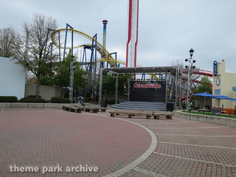 Plaza Stage at Carowinds