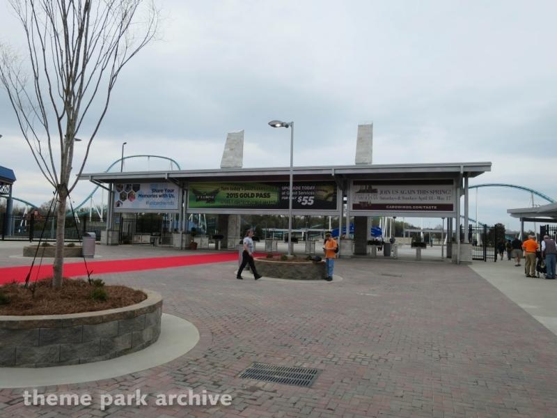 Entrance at Carowinds