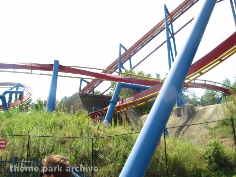 Superman Ultimate Flight at Six Flags Over Georgia