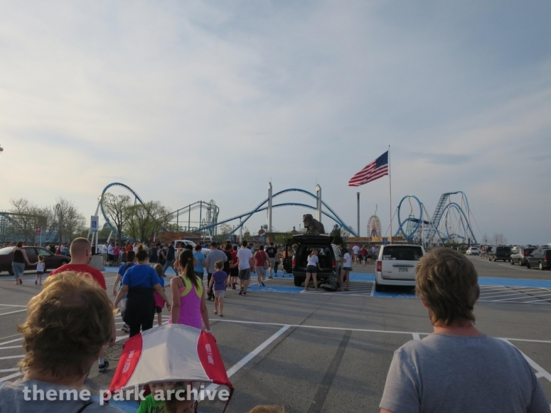 Entrance at Cedar Point