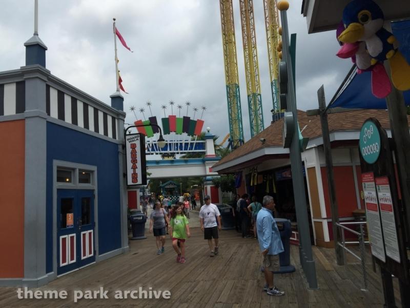 Fiesta Bay Boardwalk at Six Flags Fiesta Texas