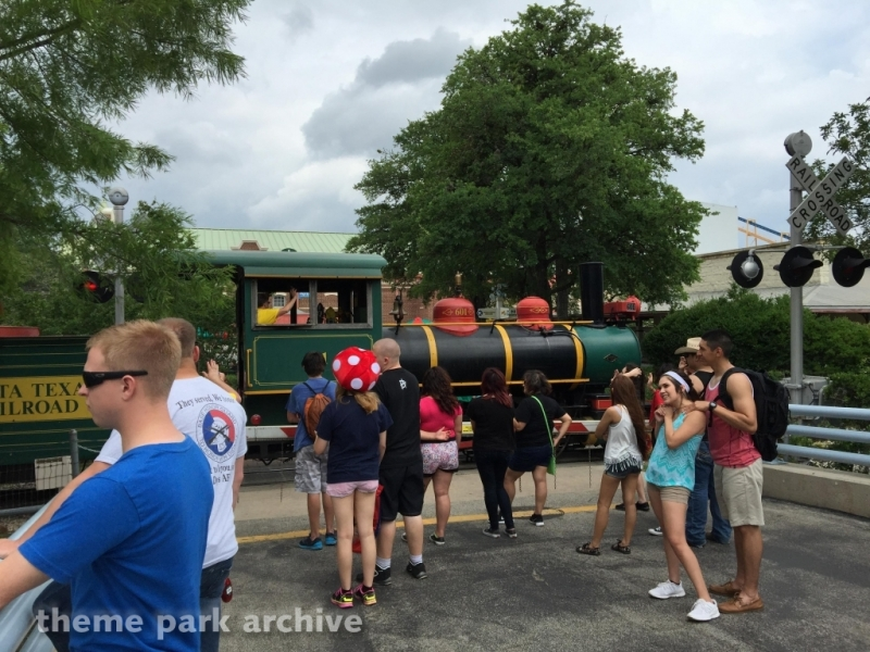Whistle Stop 39 at Six Flags Fiesta Texas