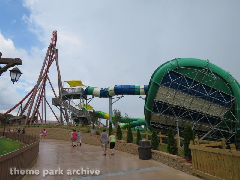 Hyena Falls at Holiday World