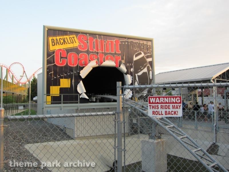 Backlot Stunt Coaster at Kings Dominion