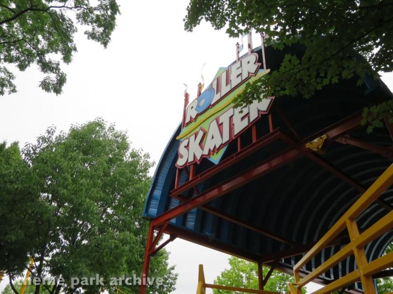 Roller Skater at Kentucky Kingdom