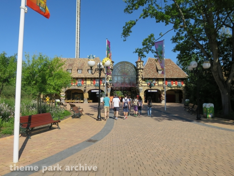 Entrance at Holiday Park