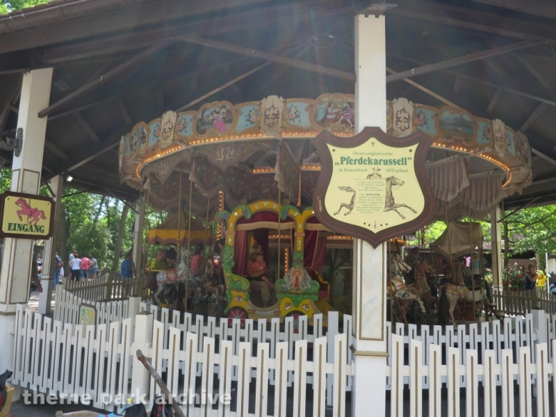 Antique Merry Go Round at Holiday Park