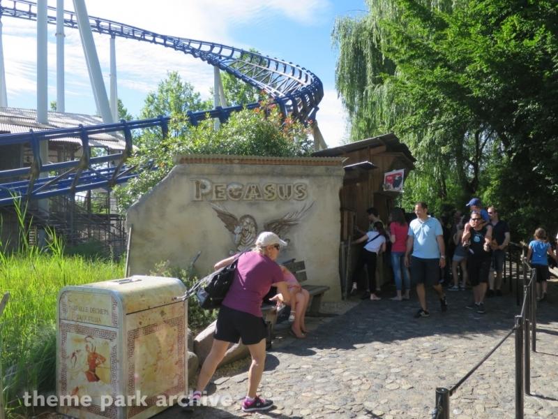 Pegasus at Europa Park