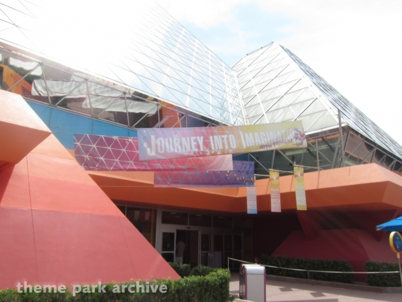 Journey Into Imagination at EPCOT