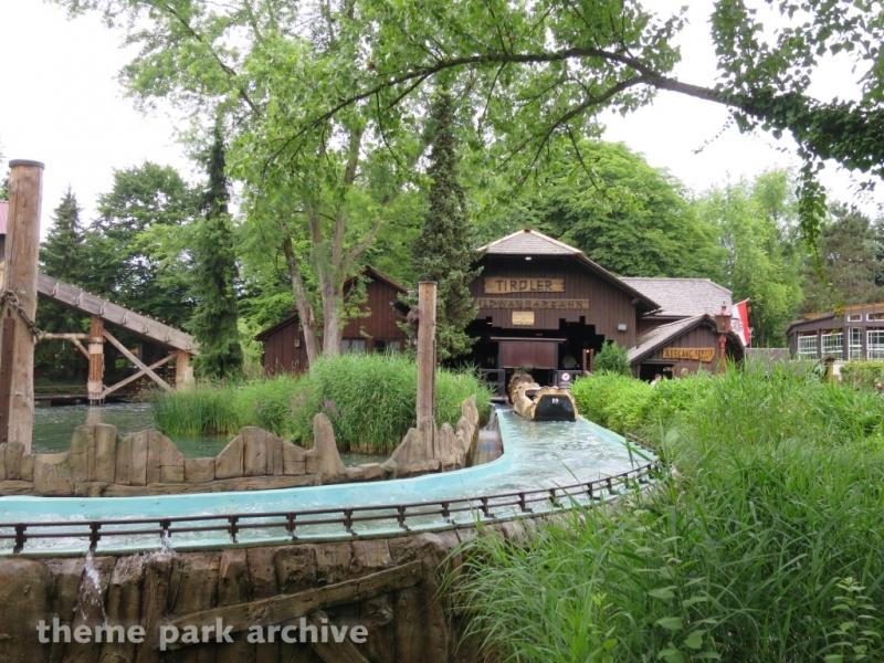 Tirol Log Flume at Europa Park