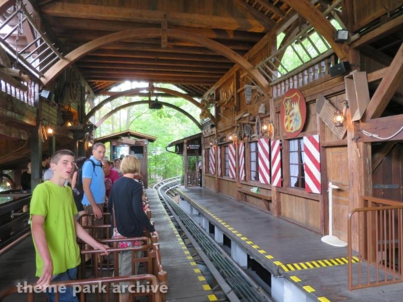 Enzian Alpine Coaster at Europa Park