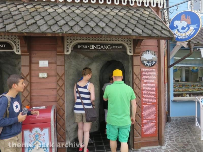 Sunken City Vineta at Europa Park