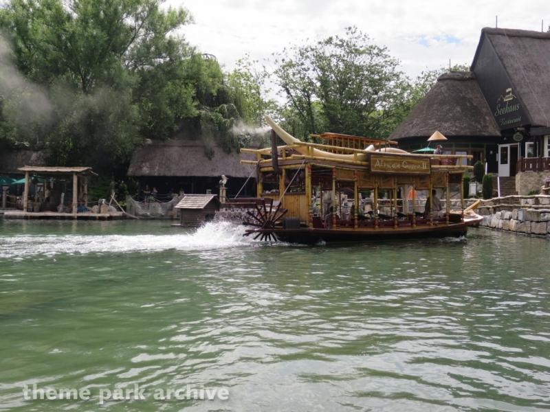 Jungle Rafts at Europa Park